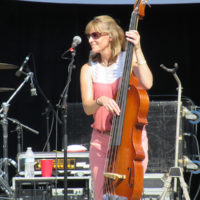 Jenny Keel with the Larry Keel Experience at the 2018 Bristol Rhythm & Roots Reunion - photo by Teresa Gereaux