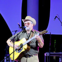 Digger Cleverly at the 2018 Bristol Rhythm & Roots Reunion - photo by Teresa Gereaux