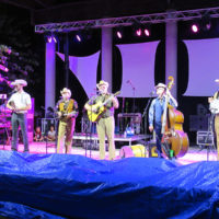 The Cleverlys at the 2018 Bristol Rhythm & Roots Reunion - photo by Teresa Gereaux