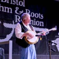 Marc Pruett with Balsam Range at the 2018 Bristol Rhythm & Roots Reunion - photo by Teresa Gereaux