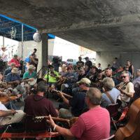 Possum Creek Playboys reunion at the 2018 Bristol Rhythm & Roots Reunion - photo by Teresa Gereaux