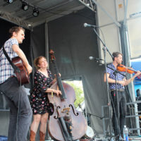 Missy Raines & The New Hip at the 2018 Bristol Rhythm & Roots Reunion - photo by Teresa Gereaux