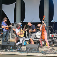 Larry Keel Experience at the 2018 Bristol Rhythm & Roots Reunion - photo by Teresa Gereaux