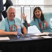 IBMA volunteers ready to help at World of Bluegrass 2018 - photo © Frank Baker