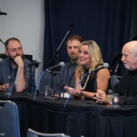 Maintaining a band over the years seminar at World of Bluegrass 2018 - photo © Frank Baker