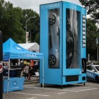 Carvana display during StreetFest at Wide Open Bluegrass 2018 - photo © Frank Baker