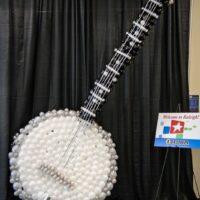 Ballon banjo at World of Bluegrass 2018 - photo © Frank Baker