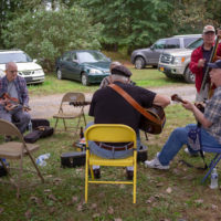 Tom Mindte, Rodger Nelson & Steve Benedik's Fall Pickin' Party, held this year in Woodbine, MD. 6 - 7 October, 2018. Photo by Jeromie Stephens