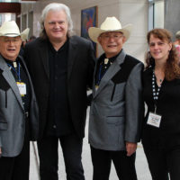 The Ozaki Brothers with Ricky Skaggs and Tara Linhardt at World of Bluegrass