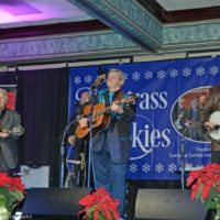 Jay Armsworthy at the 2018 Bluegrass Christmas in the Smokies - photo © Bill Warren