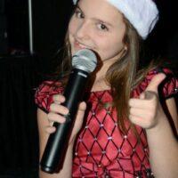 Caroline Williamson at the 2018 Bluegrass Christmas in the Smokies - photo © Bill Warren