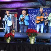 Lorraine Jordan & Carolina Road at the 2018 Bluegrass Christmas in the Smokies - photo © Bill Warren