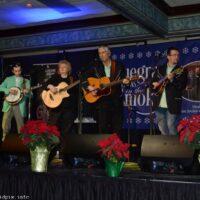 Garrett Newton Band at 2018 Bluegrass Christmas in the Smokies - photo © Bill Warren
