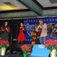 Wilson Banjo Company at the 2018 Bluegrass Christmas in the Smokies - photo © Bill Warren