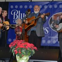 Paul Williams & Victory Trio at the 2018 Bluegrass Christmas in the Smokies - photo © Bill Warren