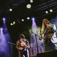Tristan and Jeff Scroggins in Munich during Bluegrass Jamboree 2018 - photo by Magdalena Mitter