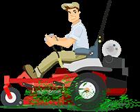 lawn-cutting