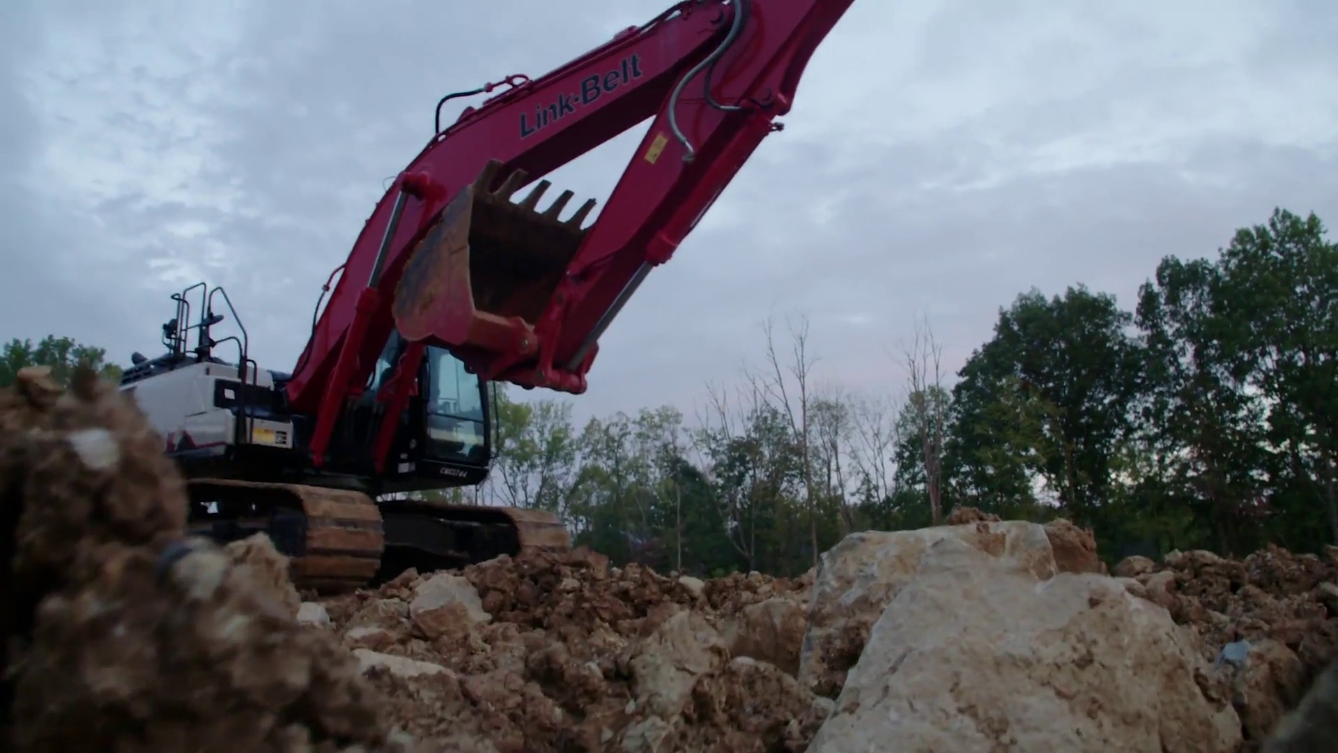 Link-Belt Excavators – Maker of Link-Belt excavators, forestry