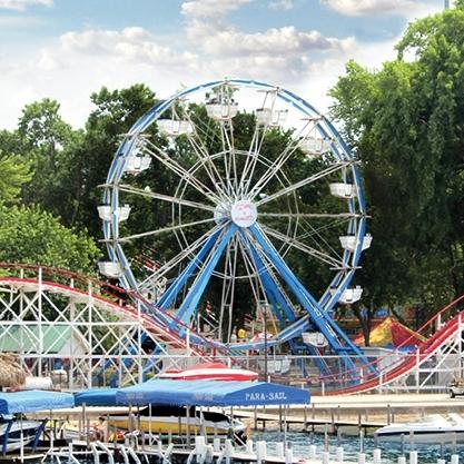 Arnolds Park Amusement Park in Arnolds Park