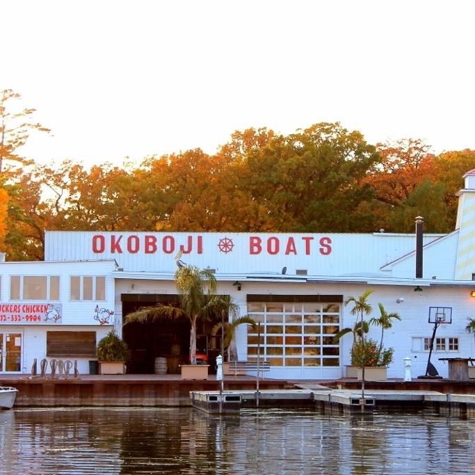 Okoboji Boat Works in West Lake Okoboji