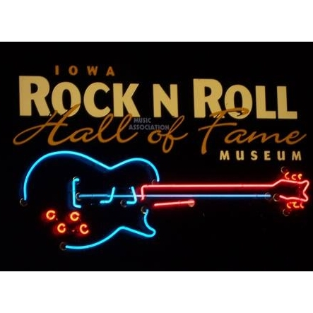 Iowa Rock 'n' Roll Music Association in Arnolds Park