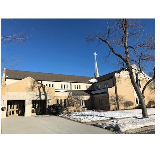 Saint Mary's Catholic Church in Spirit Lake