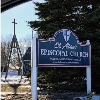 St. Albin's Episcopal Church in Spirit Lake