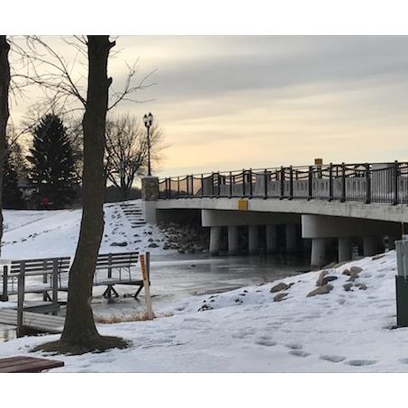 Sawmill Bridge-Park in Arnolds Park
