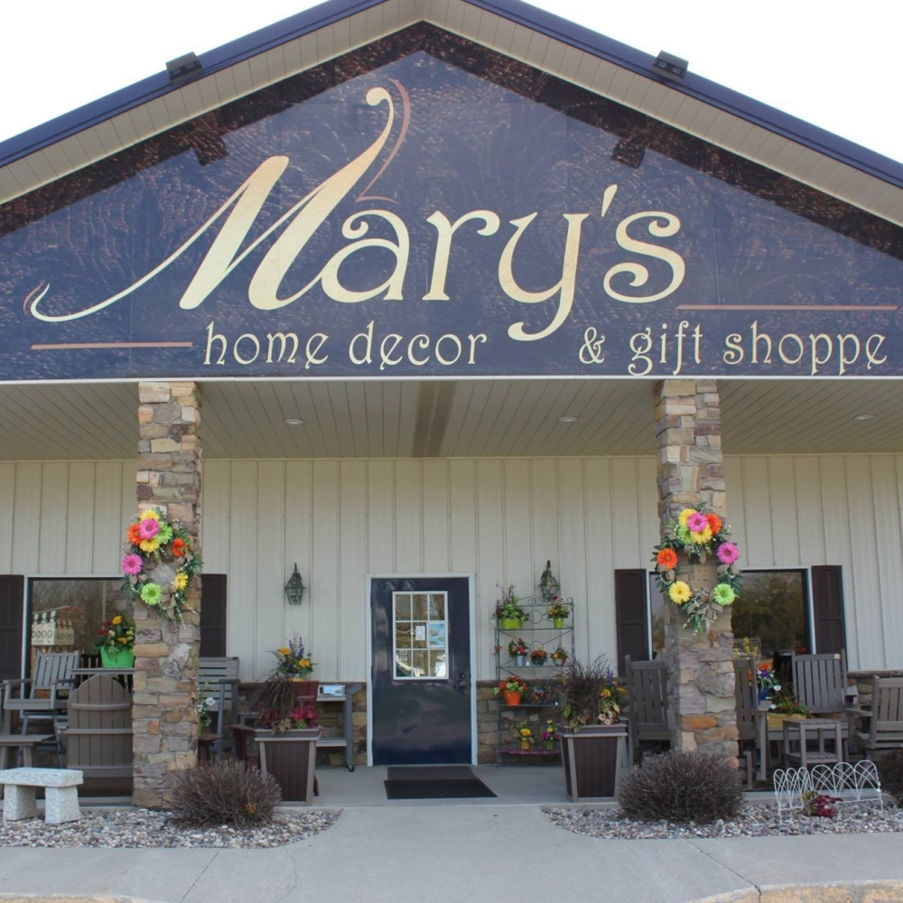 Mary's Home Decor & Gift Shoppe in Spirit Lake