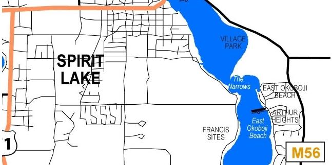 East Lake Okoboji, area Community