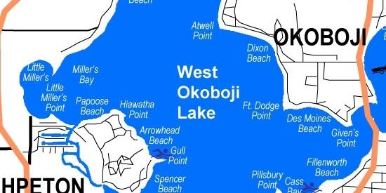 West Lake Okoboji, area Community