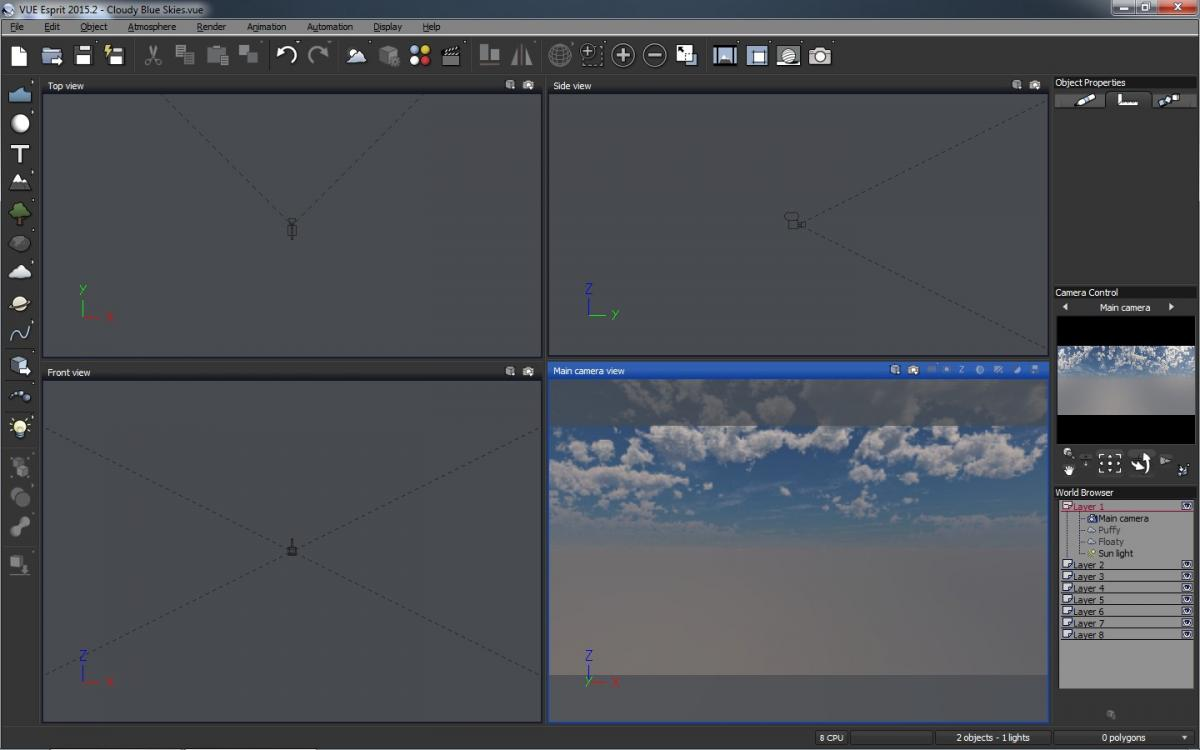 Creating Realistic Skyboxes with Vue - Leadwerks Company