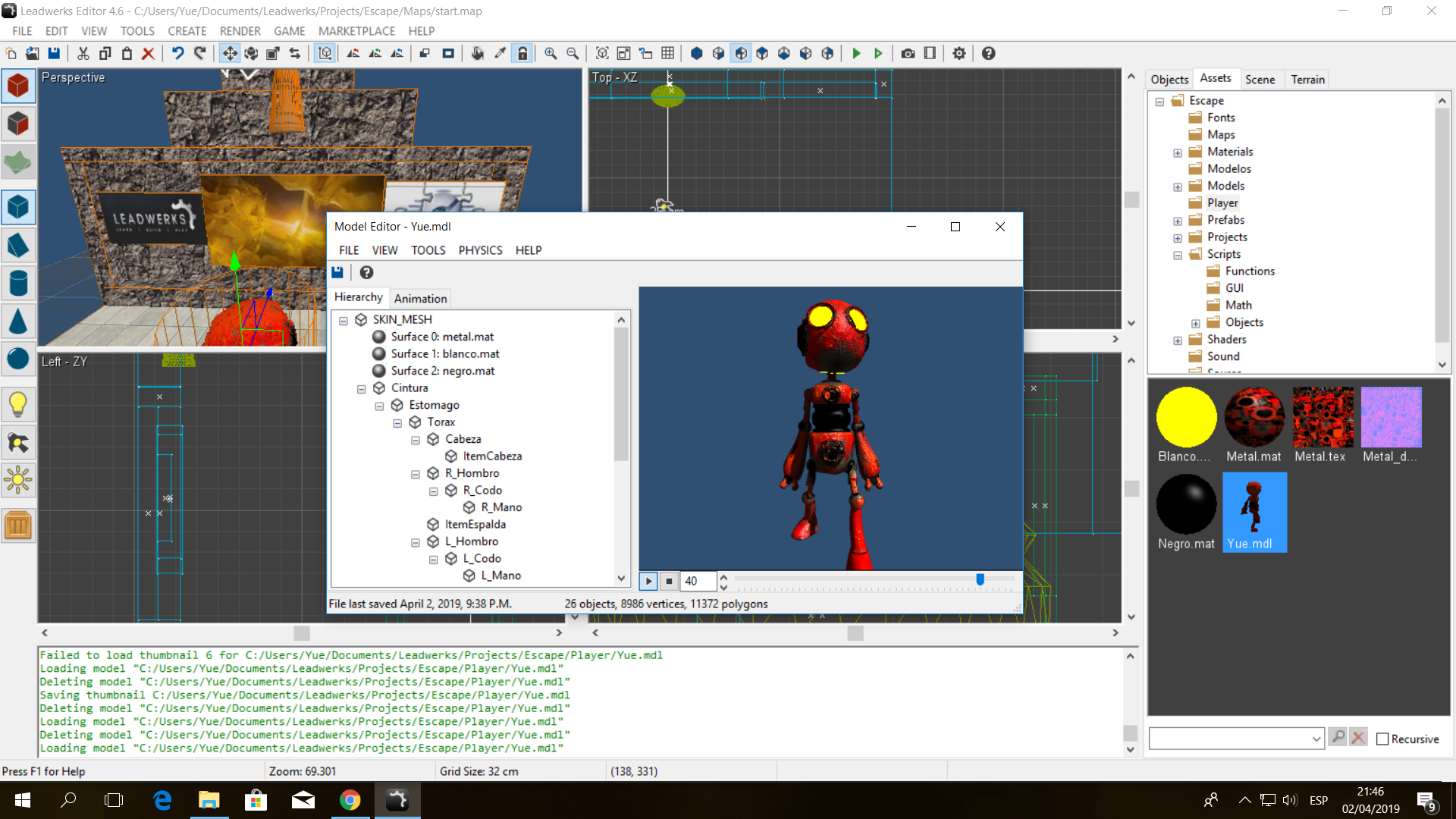 FBX Importing Without Material - Technical Assistance