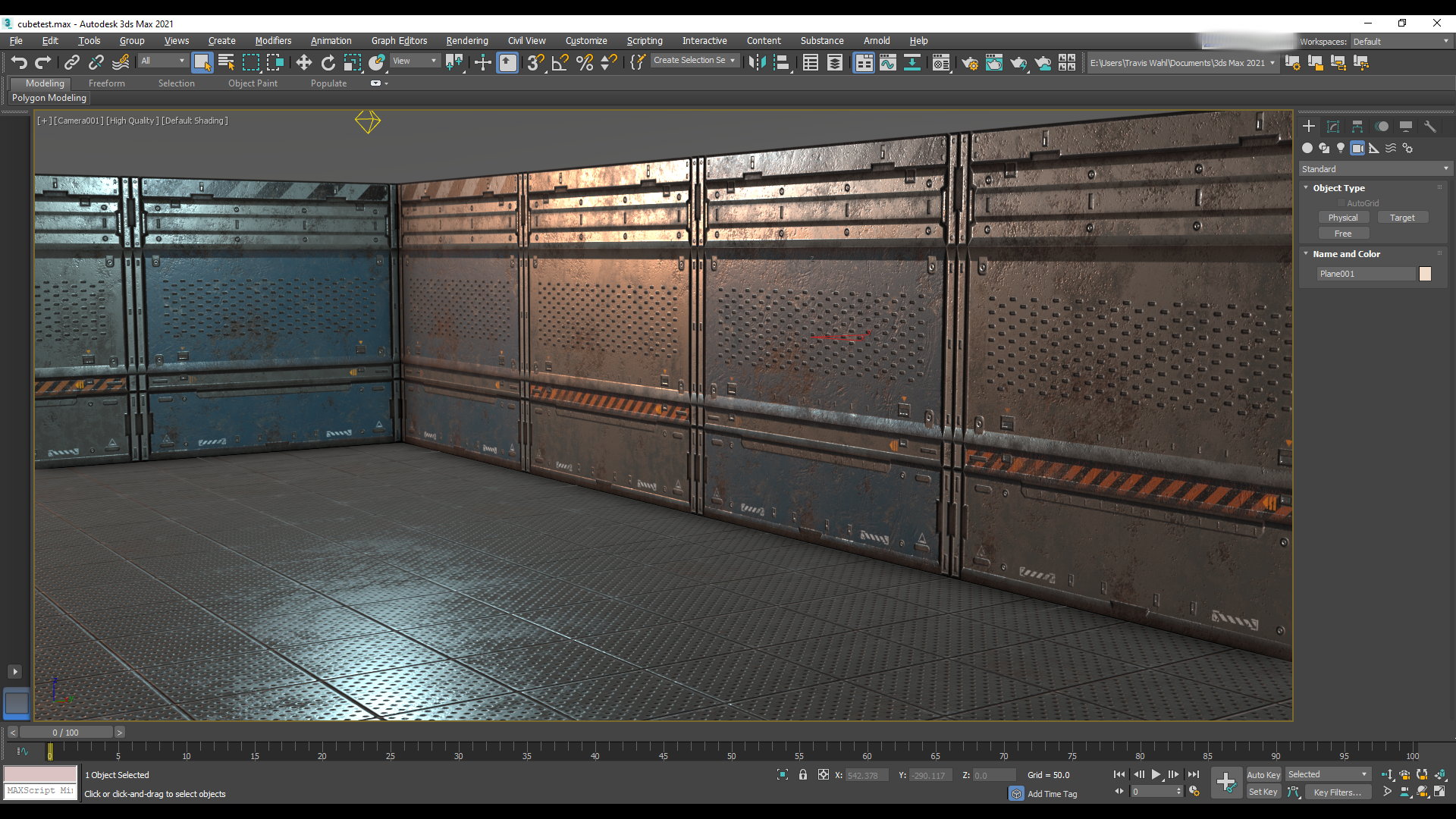 Free Scifi PBR Materials Giveaway (3 Textures)