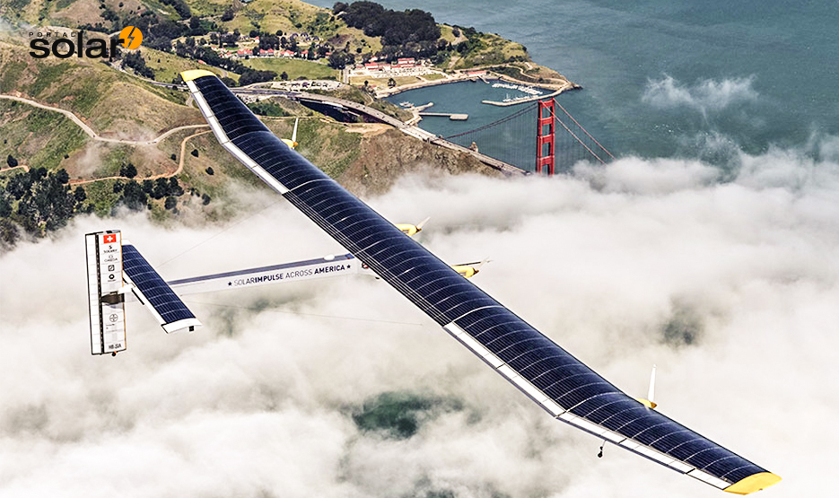 Avião movido a energia solar sobrevoa os estados unidos por 4.000km