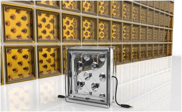 Blocos de vidro que geram energia solar são desenvolvidos por pesquisadores na Inglaterra.