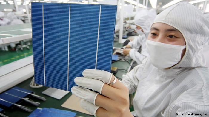 China alcança novo recorde mundial em energia solar