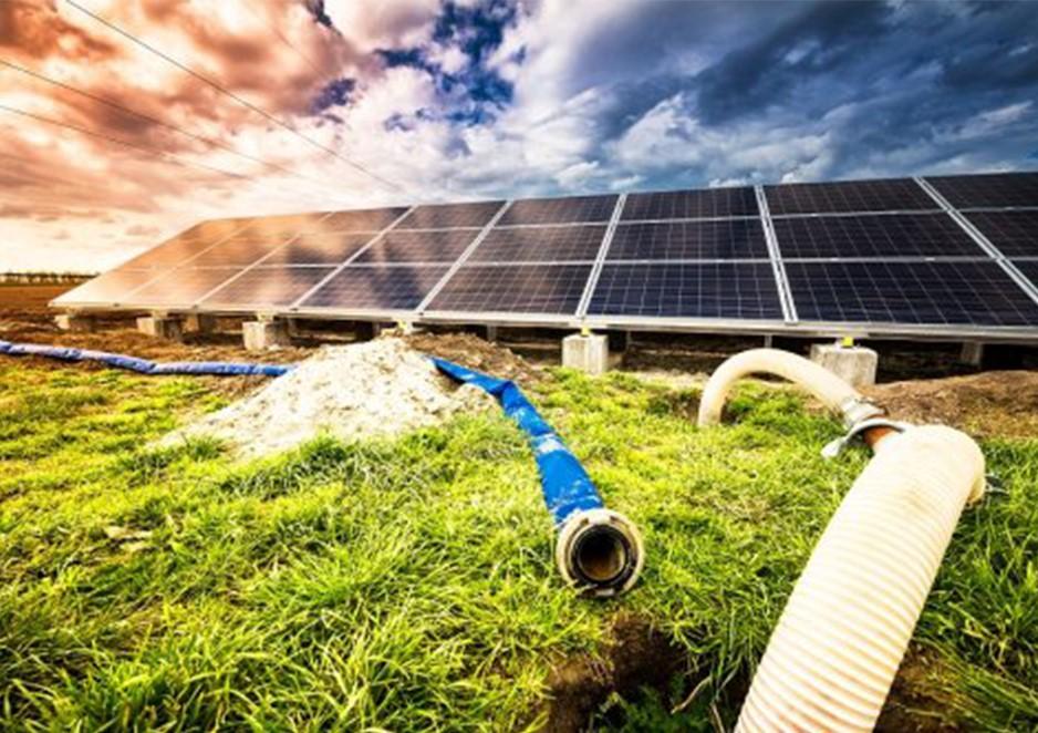 Energia solar traz economia a sistema de irrigação