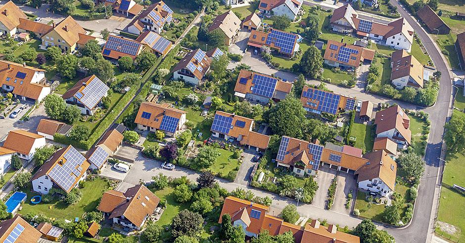 Geração Distribuída - Painéis Solares na Alemanha