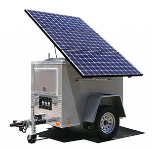 Gerador de Energia Solar com Baterias