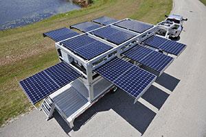 EcosPowerCube - O maior gerador de energia solar móvel