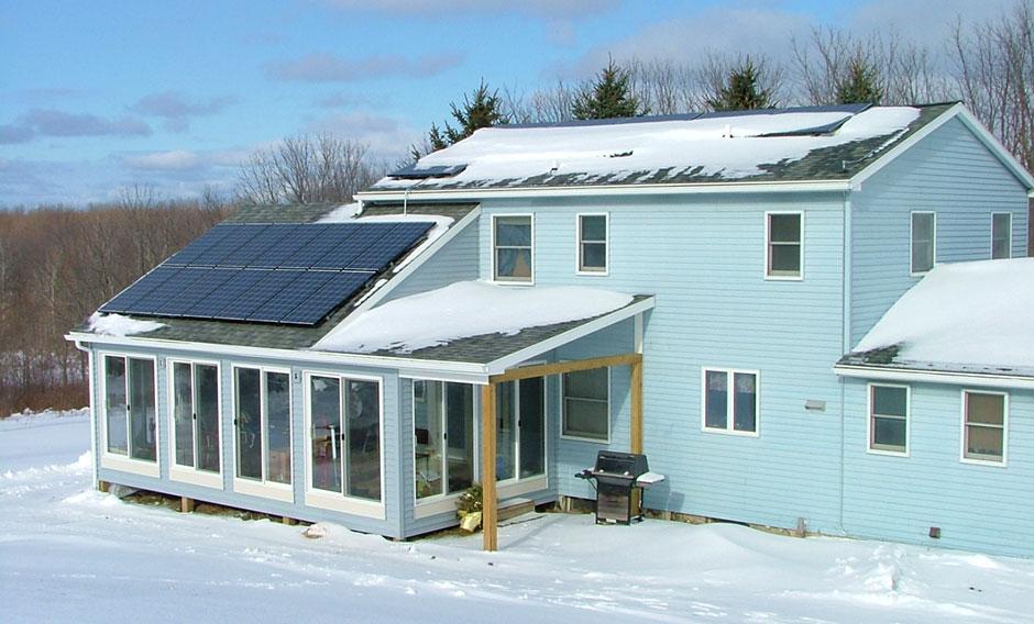 Painel Solar no Frio