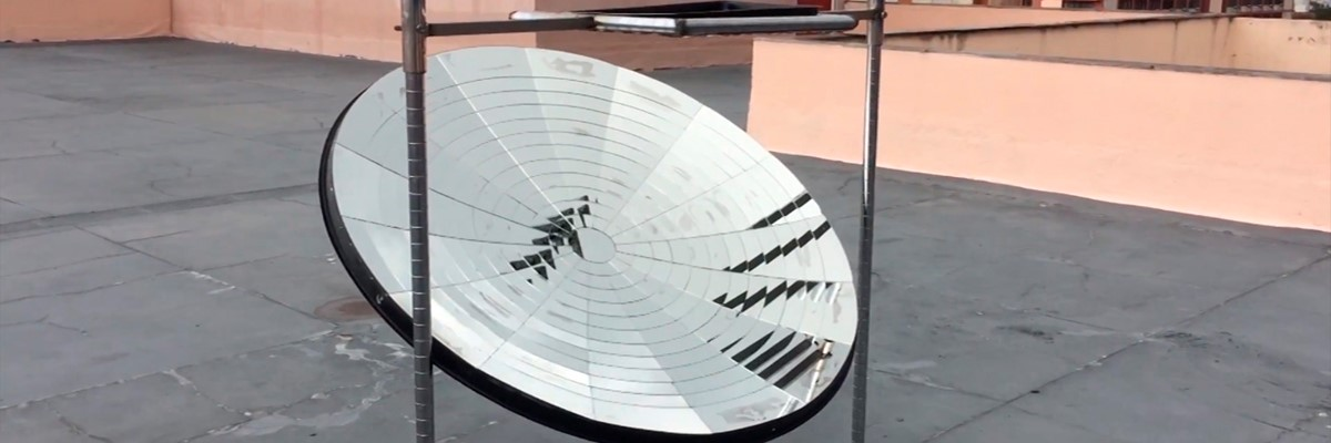 Para substituir botijão de gás, pesquisadores brasileiros fabricam fogão solar