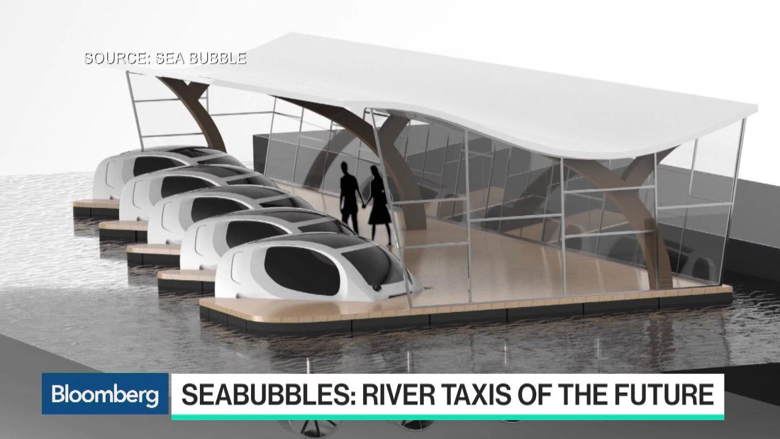 Paris terá serviço de táxi aquático movido à energia solar.