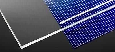 Vidro Do Painel Solar