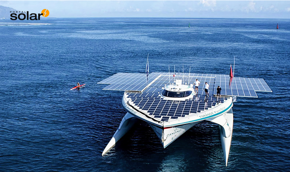 MS Turanor Planet Solar - O maior barco do mundo movido a energia solar