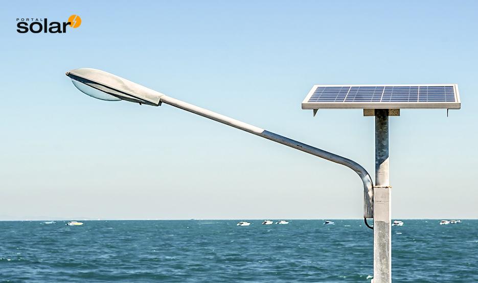 Kit de energia solar para a iluminação