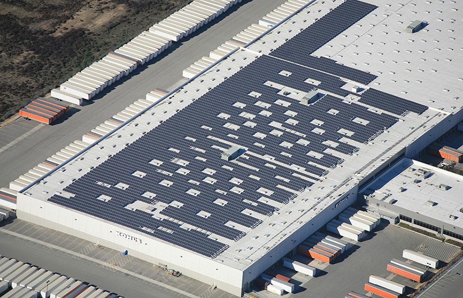 Sistema Fotovoltaico Industrial Conectado a Rede