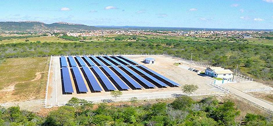 Resultado de imagem para energia solar:Imagem de usina