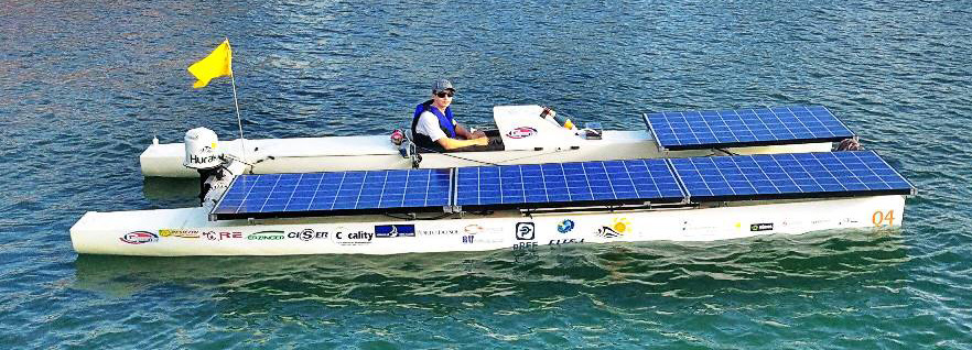 Barcos movidos a energia solar em Joinville – UDESC